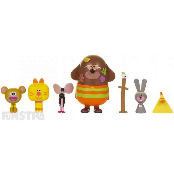 Hey Duggee Duggee /& Friends Figurine Set 7 Figures Included