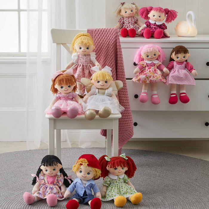 Collect Caroline and all her adorably cute friends from the My Best Friend dolls collection.