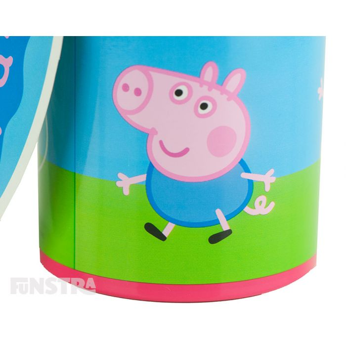 George Pig makes an appearance and is no doubt in search of his dinosaur