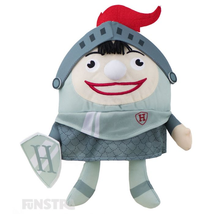 Create your own fairtale with the Knight Humpty doll, dressed in his knight in shining armor costume.