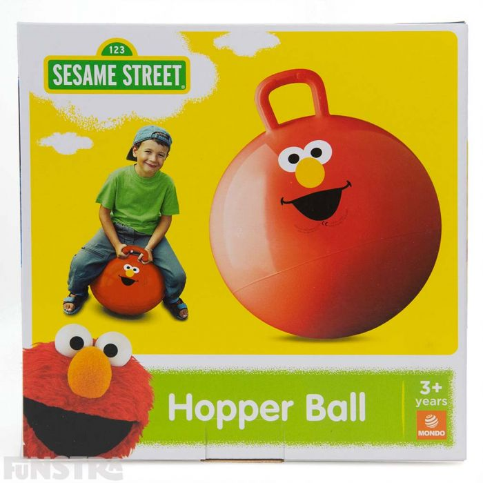 The Elmo space hopper comes in a box and makes a great bouncy gift for little fans of Sesame Street.