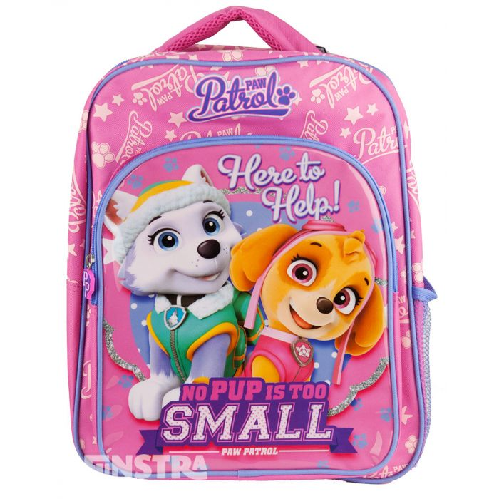Everest School Travel Backpack With Side Mesh Pocket Paw Patrol Skye