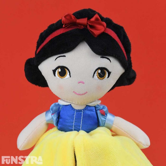 Snow White is the perfect little friend for babies and toddlers.