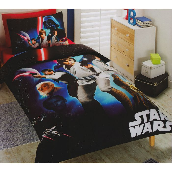 Star Wars A New Hope Quilt Cover Bedding Set Funstra