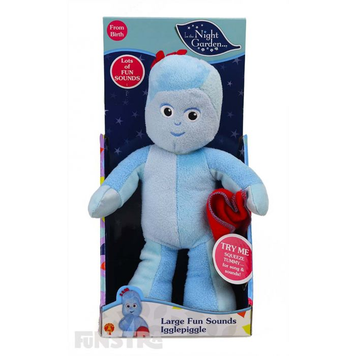 In The Night Garden Wooden Pull Along Iggle Piggle Gift set