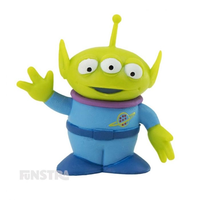 Alien is a rubber squeak toy and just one of many Squeeze Toy Aliens, or Little Green Men.