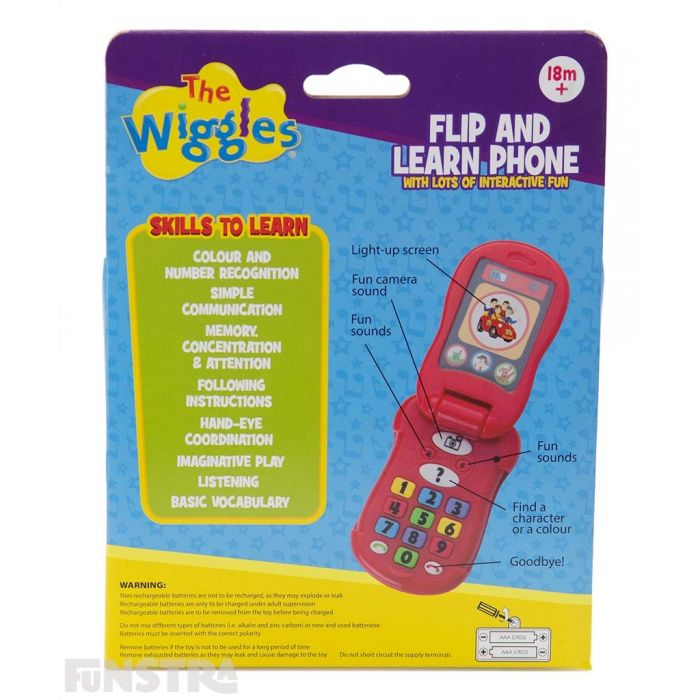 Perfect educational toy for little Wiggles fans that teaches skills for children to learn through interactive play with characters they adore.