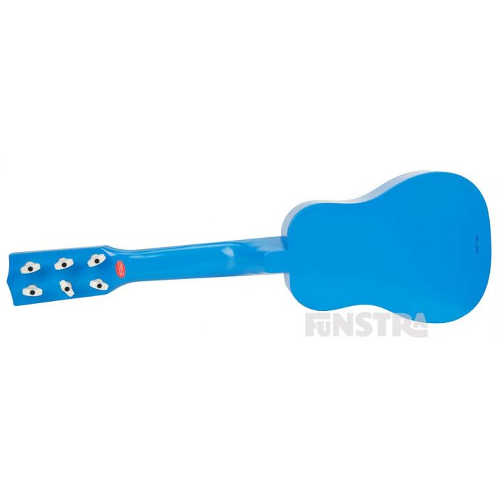 The Wiggly acoustic guitar is an ideal first instrument to introduce to children.