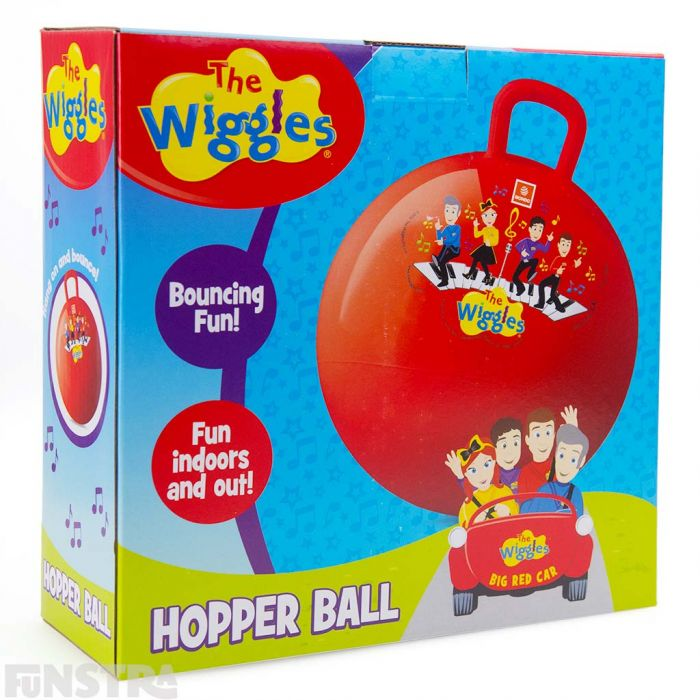 This hippity hop ball is not only lots of fun for little Wiggles fans, but is great to encourage exercise and physical activity for kids.