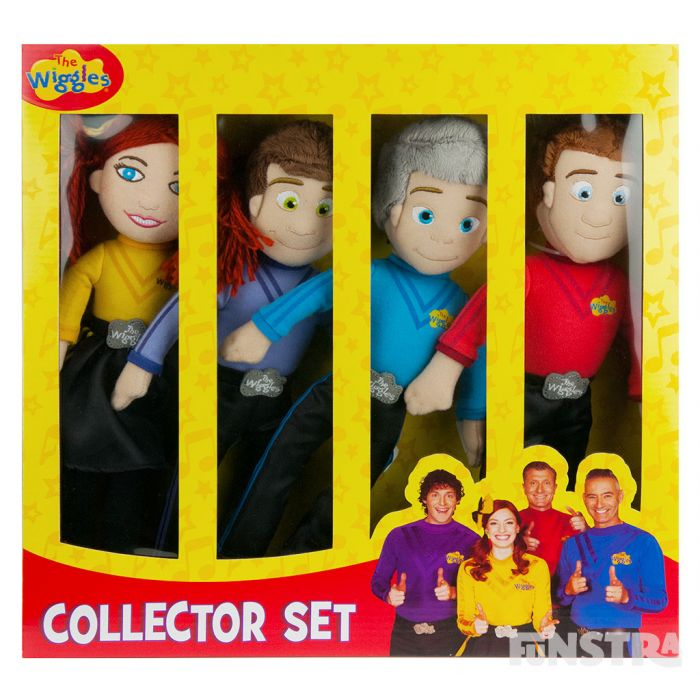 Collector set of four dolls are contained in a collector box and make a great gift for little Wiggles fans