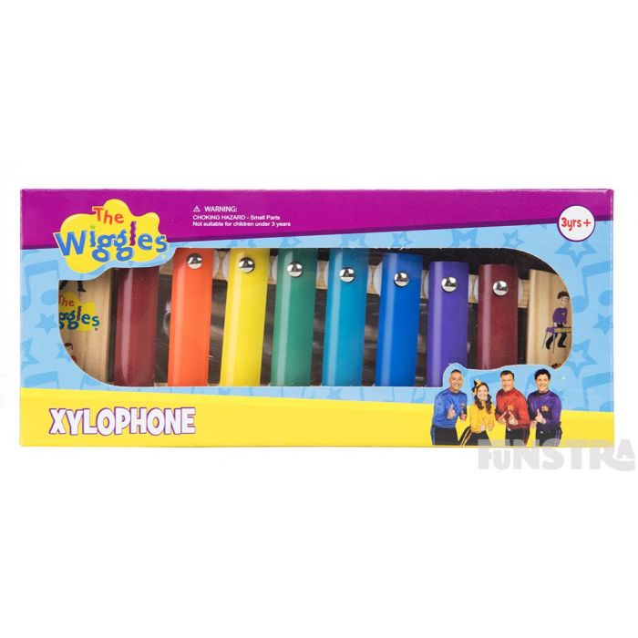 The xylophone comes beautifully boxed and makes a wonderful gift for Wiggles fans