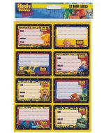 Bob the Builder Stickers Book Labels