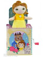 Tale as old as time, Belle, pops out of Disney Princess jack in the box, offering plenty of fun and entertainment with this beautiful Disney Baby traditional toy that will put a smile on little faces.