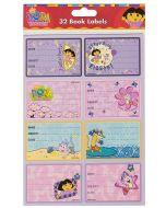 Dora the Explorer Stickers Book Labels