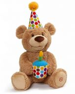 GUND Happy Birthday Animated Teddy Bear