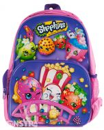 Once you shop... You can't stop! It's a super sweet backpack of all your favorite grocery characters