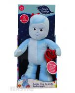 Yes - my name is Igglepiggle, Igglepiggle, niggle, wiggle, diggle! Yes - my name is Igglepiggle, Igglepiggle, wiggle, niggle, woo! Squeeze Igglepiggle to hear phrases from the TV show.