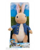 Talking Peter Rabbit Plush Soft Toy