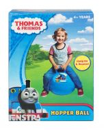 Hang on a bounce with the number one blue train, Thomas the Tank Engine on this blue space hopper ball for children.