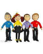Anthony, Emma, Lachy and Simon dolls are perfect for Wiggly big adventures